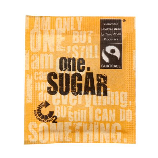 ONE FAIRTRADE SUGAR SACHETS 2000