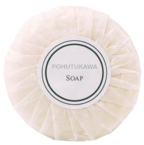 POHUTUKAWA LANOLN PLEAT WRAPPED SOAP 30G