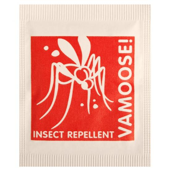 VAMOOSE INSECT REPELLANT TOWELETTE 1000