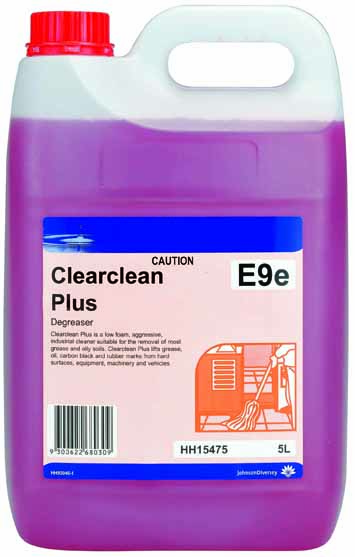 DIVERSEY CLEARCLEAN PLUS DEGREASER 5Ltr