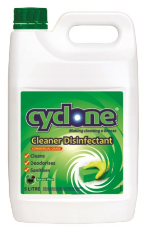 CYCLONE CLEANER DISINFECTANT PINE 5Ltr