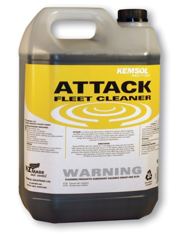 ATTACK HEAVY DUTY FLEET WASH 5Ltr