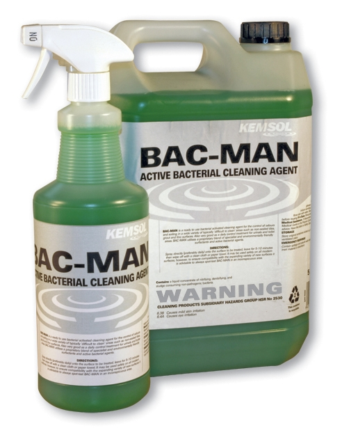 KEMSOL BAC-MAN ENZYMATED CLEANER 5Ltr **NON**