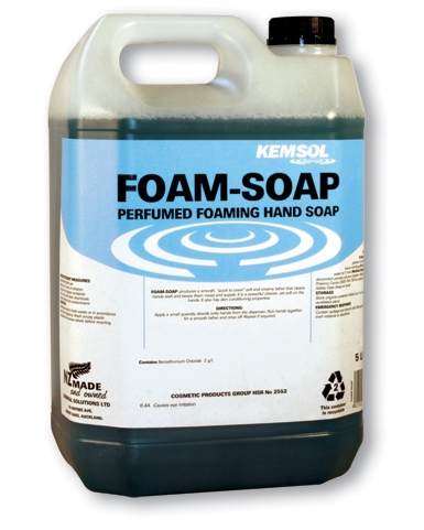 KEMSOL LUXURY FOAMING HAND SOAP 5Ltr