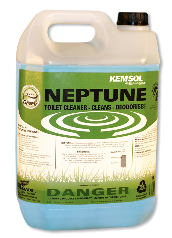 KEMSOL GREEN  NEPTUNE WASHROOM CLEANER 5Ltr