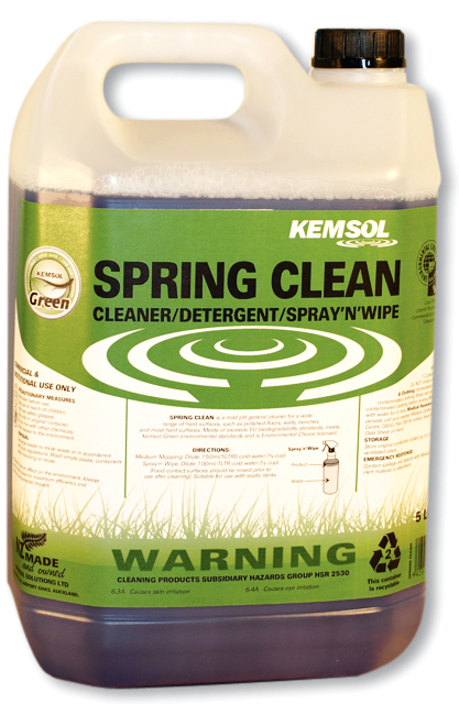 KEMSOL GREEN SPRING CLEAN MULTIPURPOSE 5Ltr