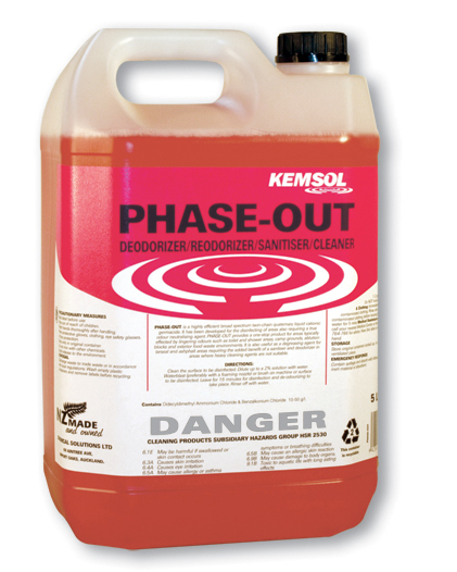 PHASE OUT RE-ODORANT CLEANER DISINFECTANT 5ltr **NON**