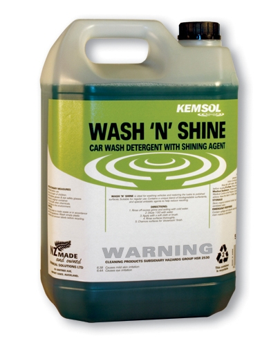 KEMSOL WASH n SHINE VEHICLE WASH  20Ltr **NON**