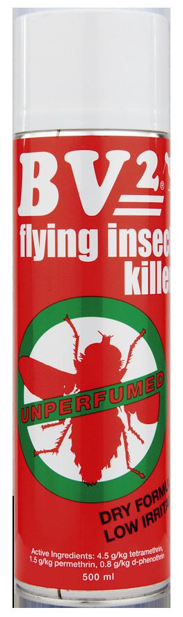 BV2 COMMERCIAL FLY SPRAY MPI  500ml ea DGLQ